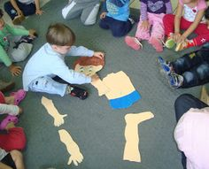 Centro de Educação Infantil Profª Tereza A. E. Augsburger: O Corpo Humano