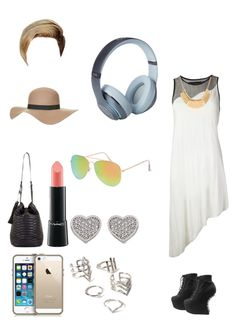 """""""Untitled #55"""" by darkroom-1 ❤ liked on Polyvore featuring Ødd., Jeffrey Campbell, Topshop, BCBGMAXAZRIA, MAC Cosmetics, Forever 21, Carolee, Beats by Dr. Dre, With Love From CA and women's clothing"""