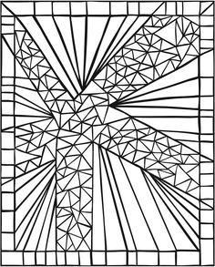 SPARK -- Mosaics Coloring Book