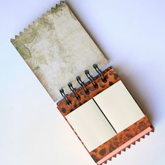 Decorative POST IT NOTE Pad - Made from Upcycled Chipboard Part 2