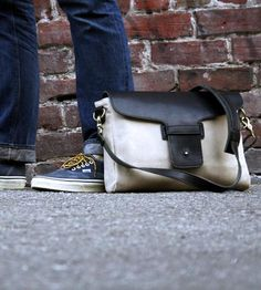 The perfect on the go messenger bag