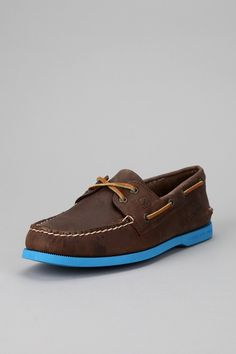 detailed look 6872f ec26b Sperry Top-Sider Neon Sole Boat Shoe - Urban Outfitters Personal Style,  Urban Outfitters