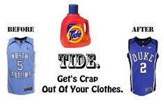 Tide with Febreeze Sport gets the smell out of Under armour/wicking clothes and even Hockey equipment