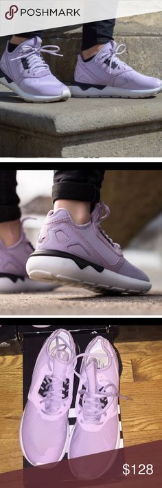 """🆕⭐️Adidas Tubular """"Bliss Purple"""" Sneakers NWT ⭐️ These are the unattainable """"Bliss Purple"""" Adidas Tubular, NWT! This Sneaker is highly rated and has amazing traction and durability which makes it a number one choice for runners, athletics and anyone in between. Fits perfectly like a sock and is light on your feet. Super style as a part of the Adidas original collection. Size 9 but fits sizes 9-10. AMAZING BUY!!! 🔥🔥🔥REASONABLE OFFERS ONLY. 🔥🔥🔥😎 FREE GIFT w/ Purchase. Adidas Shoes…"""