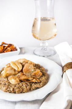 Lotta-Garlic Chicken over Coffe-Cardamom Quinoa & Amaranth by RecipeTaster, via Flickr