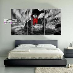 One Piece canvas painting wall decor. One Piece canvas prints are great for your room. Check on our online store the full One Piece canvas collection! One Piece Merchandise, Anime Merchandise, Monkey D Luffy, Dope Art, Decorating Tips, Bed Sheets, Bedding Sets, Duvet Covers, Home Goods
