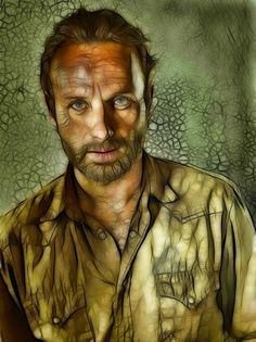 The Walking Dead: Rick: Fractalius Re-Edit by ~nerdboy69 on deviantART