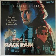 Black Rain Laserdisc