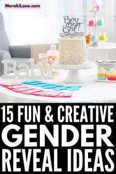 15 Meaningful Gender Reveal Ideas | Whether you're looking for unique and simple gender reveal ideas for you and your partner, or you want fun and creative ideas to surprise your guests at a gender reveal party, this post has lots of cute and easy DIY ideas to choose from. Whether you're organizing a theme party or a quiet celebration at home, we've included food ideas, games, and everything in between. Enjoy these inside or outside in fall, winter, spring, or summer! Simple Gender Reveal, Gender Reveal Photos, Balloon Box, One Balloon, Cocktail And Mocktail, Pink Cocktails, Creative Ideas, Diy Ideas, Food Ideas