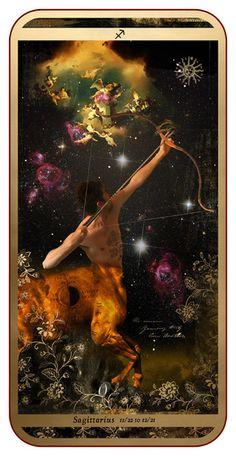 Zodiac : Sagittarius Art Print