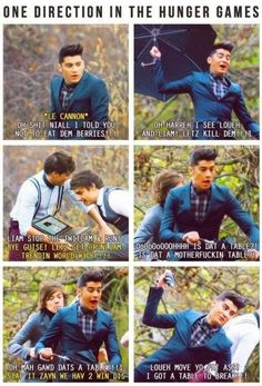 ONE DIRECTION HUNGER GAMES