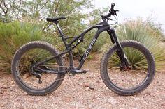 World's lightest FS fat bike?