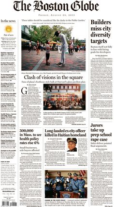 boston globe july 4th