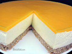 Mango Cheesecake, Deli, Vanilla Cake, Pudding, Desserts, Food, Cakes, Mango Mousse Cake, Mango Jelly