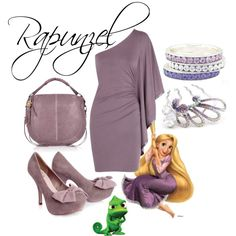 Rapunzel. I would soooo wear this