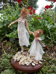 Dancing with Mama OOAK Hiddleston Fairy