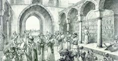 Image result for ancient baghdad house of wisdom