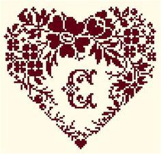 pinterest cross stitch hearts   Uploaded to Pinterest