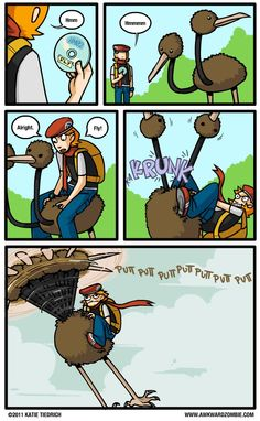 I don't know why this is making me laugh as much as it is. Pokemon logic!
