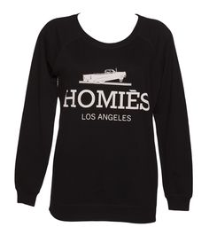Brand Jacker Ladies Black Homies Parody Sweater from Brand Brand Jacker is a very clever brand indeed, adding a funky twist to some of the worlds most recognisable names with their awesome range of parody tees and sweaters. The Homies sweater is THE sweater o http://www.comparestoreprices.co.uk/t-shirts/brand-jacker-ladies-black-homies-parody-sweater-from-brand.asp