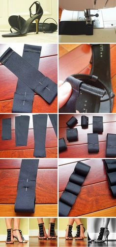 Diy Fashion Shoes Decoration