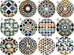 Patrones para posavasos con CDs Alhambra pintados a mano. Para escoger. Cd Crafts, Painted Plates, Upcycle, Decorative Plates, Recycling, Create, Diy, Painting, Inspiration