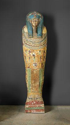 Coffin of Irtirutja Period: Macedonian-Ptolemaic Period Date: 332–30 B.C. Geography: From Egypt, Northern Upper Egypt, Akhmim (Khemmis, Panopolis), Egyptian