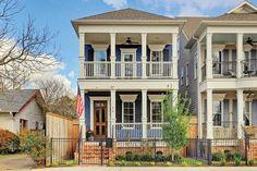 414 Arlington St, Houston, TX 77007 Front door