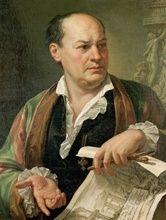1779Portrait of Giovanni Battista Piranesi by Pietro Labruzzi