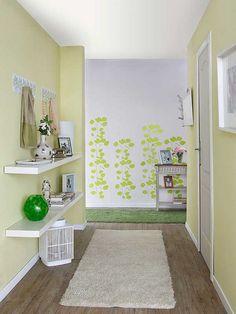 Clean, crisp hallway