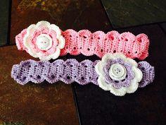 Ravelry: Thread headband pattern by Kinga Erdem