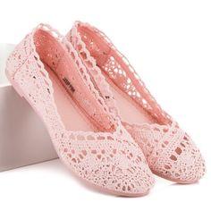 Letné balerínky s čipkou JX59P Wedges, Flats, Shoes, Fashion, Toe Shoes, Moda, Zapatos, Shoes Outlet, Flat Shoes