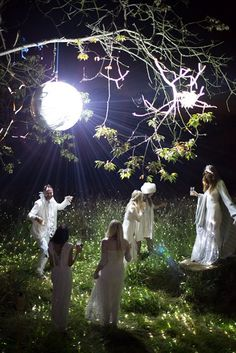 Photos: Go Inside Alice Temperley's White Magic Party