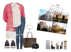 First day to madrid- 2015/3/28 by simaoana on Polyvore featuring maurices, Topshop, Converse, Louis Vuitton, Calvin Klein, Napoleon Perdis, Chanel, Benefit, Eos and Guerlain
