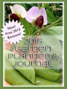Get your copy of the best damn garden planner around! Designedforvegetablegardenersbya vegetable gardener, The Garden Planner & Journal includes everything you need to get organized, get p...