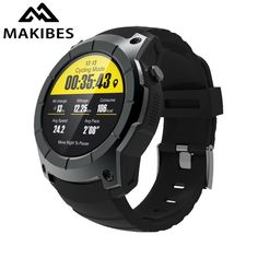 108$ Makibes G05 GPS Sports Watch MTK2503 Smart Watch multi-sport Smartwatch Heart rate monitor Answer Call Watches for Android ios