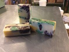Newest soap ~ Basil Nights