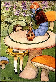 Alice in Wonderland, illustrator Maria Kirk