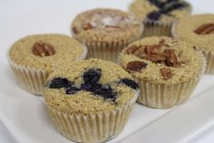 Remember the oat bran craze back in the late I was hooked on everything oat bran then, hearing that it was a superfood. And these muffins are gluten-free. Oat Bran Recipes, Oat Bran Muffins, Healthy Muffins, Fun Cooking, Superfood, Gluten, Breakfast, Rv, Health