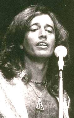 Robin is my favorite Gibb brother. Though all of the brothers were/are handsome and talented, it is Robin's personality that intrigues me the most. From all reports, he was very open-minded, smart and affable. He could also be headstrong and actually left The Bee Gees for a while around 1970 to pursue a solo career. And that voice was underestimated. It was exceedingly pure and resonant.