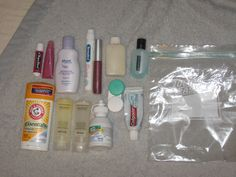 Helpful Info On The Quart Size Liquids Bag Required For Flying Recorded History Hawaii