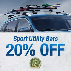 Carry more than ever before with our sport utility bars! Perfect for Jeep Cherokee, Renegade, Grand Cherokee or Liberty models and on sale now!  Order now: JustForJeeps.com/racasputba.html