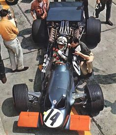 John Surtees (1968) - Zandvoort, The Netherlands