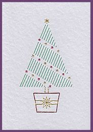 Xmas Tree Duo Prick 'n Stitch Cards                                                                                                                                                                                 More