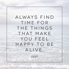 It's never too late to do what truly matters most... xx