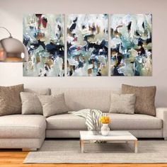 "See our web site for more relevant information on ""abstract art paintings diy"". It is actually a great area to read more. Blue Abstract Painting, Acrylic Painting Canvas, Canvas Wall Art, Abstract Paintings, Art Paintings, Original Paintings, Contemporary Abstract Art, Modern Art, Triptych"