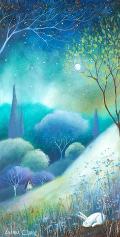 Amanda Clark - Moonlight and Mist (large image)