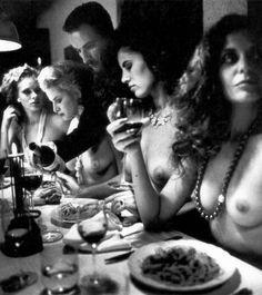 Moodboard Helmut Newton