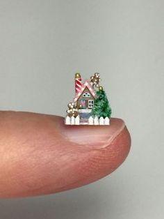1:12 Scale Eeyore estatuilla Casa De Muñecas Miniaturas pequeña