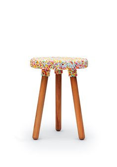 Zuckerperlen Hocker – Sugarpearl Stool